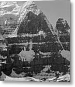 1m3752-bw-the Great North Face Of North Twin Metal Print