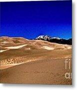 The Great Sand Dunes1 Metal Print by Claudette Bujold-Poirier