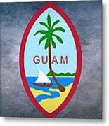 The Great Seal Of Guam Territory Of Usa  Metal Print
