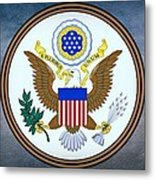 The Great Seal Of The United States  Metal Print