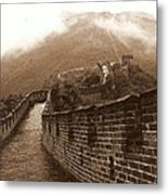 The Great Wall Metal Print