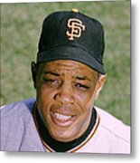 The Great Willie Mays Metal Print