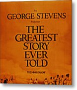 The Greatest Story Every Told, Us Metal Print