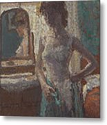 The Green Dress, 1908-09 Metal Print