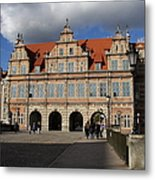 The Green Gate - Gdansk Metal Print