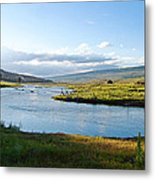 The Green River Metal Print