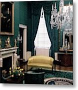 The Green Room In The White House Metal Print