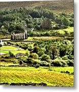 The Green Valley Of Poisoned Glen Metal Print