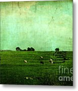 The Green Yonder Metal Print by Trish Mistric