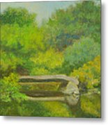 The Greens Of Summer Metal Print
