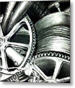 The Grind Metal Print