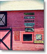 The Grocery Store Metal Print