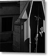 The Guard Metal Print