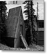 The Guide House At Paradise Metal Print