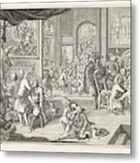 The Guild Of Surgeons The Workshop, 1731 Metal Print