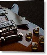 The Guitar Metal Print