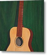 The Guitar  Metal Print by Jimmie Bartlett