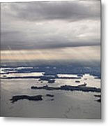 The Gulf Of Morbihan, Saint Armel Metal Print