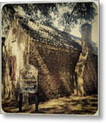 The Gullah Theater At Boone Hall Metal Print