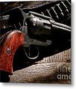 The Gun That Won The West Metal Print