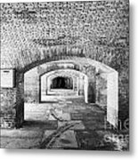 The Gunrooms In Fort Jefferson Dry Tortugas National Park Florida Keys Usa Metal Print
