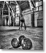 The Gym Metal Print
