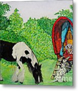 The Gypsies Metal Print