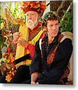The Gypsy And The Minstrel Metal Print