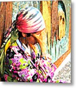 The Gypsy Metal Print