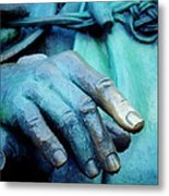 The Hand That Fed You Metal Print by Jill Jacobs