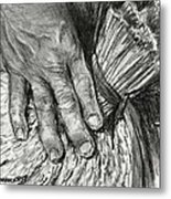 The Hand That Feeds Us Metal Print