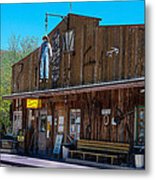 The Hanging - Apache Country Metal Print