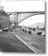 The Harlem River Speedway Metal Print