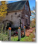 The Harvest Is In Metal Print by Jeff Folger