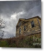 The Haunted Color Metal Print