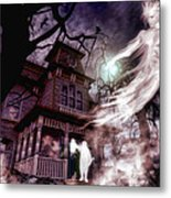The Haunting Of Blackthorne Manor  Metal Print