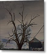 The Haunting Tree Metal Print