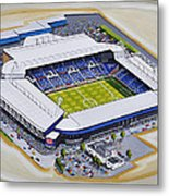 The Hawthorns - West Bromwich Albion Fc Metal Print