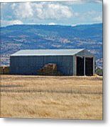 The Hay Shed Metal Print