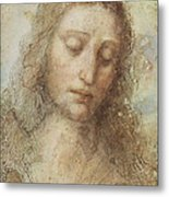 The Head Of Christ Metal Print