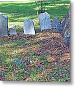 The Headstones Of Slaves Metal Print