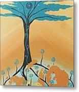 The Healing Tree Metal Print