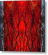 The Heart Of A Tree Metal Print