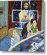 The Heart Of The Lord To The Children Metal Print