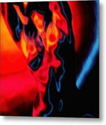 The Heat Metal Print