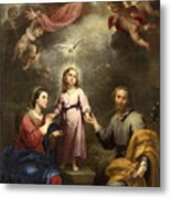 The Heavenly And Earthly Trinities Metal Print