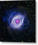 The Helix Nebula Metal Print