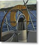 The Helm Metal Print