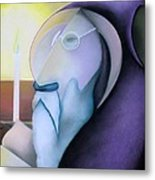 The Hermit Metal Print by Tracey Levine