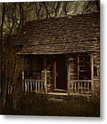 The Hermit's Cabin Metal Print by Julie Dant